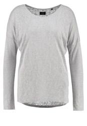 Opus Seconda Long Sleeved Top Light Grey
