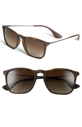 Ray Ban 'Youngster' 54Mm Square Keyhole 54Mm Sunglasses Brown