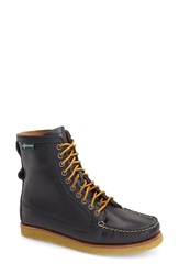 Eastland 'Mackenzie 1955' Crepe Sole Lace Up Moc Boot Women Navy