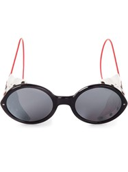 Thom Browne Round Frame Sunglasses Multicolour