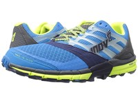 Inov 8 Trailtalon 275 Blue Navy Grey Lime Men's Running Shoes