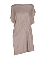 Roberto Collina Topwear T Shirts Women Dove Grey
