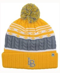 Top Of The World Long Beach State 49Ers Altitude Knit Hat Gray Yellow
