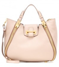 Tom Ford Sedgwick Mini Leather Tote Neutrals