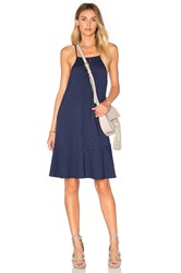 Lanston Drop Flare Mini Dress Navy