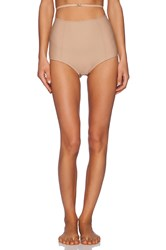 For Love And Lemons Sweetheart High Waisted Panty Beige