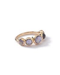 Ippolita 18K Lollipop 5 Stone Bezel Ring