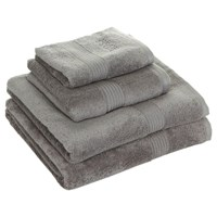 Hugo Boss Loft Towel Silver Bath Towel