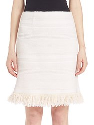 Nanette Lepore Alsace Skirt Natural