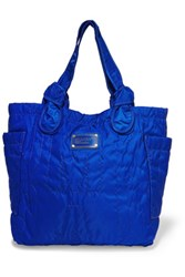 Marc By Marc Jacobs Lil Tate Embroidered Shell Tote Royal Blue
