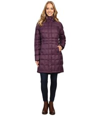 Columbia Hexbreaker Long Down Jacket Dusty Purple Women's Jacket