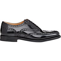 Church's Women's Burwood Wingtip Oxfords Black Blue Black Blue