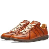 Maison Martin Margiela 22 Replica Low Burnished Sneaker Brown