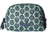 Vera Bradley Medium Zip Cosmetic Nomadic Blossoms Cosmetic Case Green