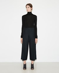 Maison Martin Margiela Stretch Wool Trouser Dark Melange