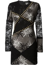 Fausto Puglisi Sun Print Dress Black