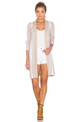 Bcbgeneration Elongated Stripe Blazer Tan