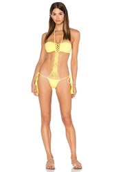 Sky Faber One Piece Yellow