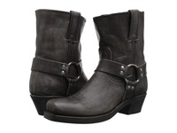 Frye Harness 8R Smoke Washed Oiled Vintage Women's Pull On Boots Black