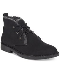 Seven Dials Mallori Chukka Faux Fur Lined Booties Women's Shoes Black
