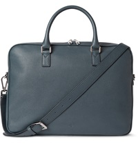 Mulberry Theo Grained Leather Briefcase Blue