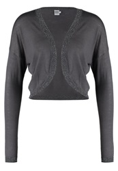 Saint Tropez Cardigan Charcoal Anthracite
