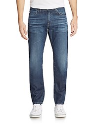 Ag Adriano Goldschmied Dylan Faded Slim Leg Jeans Blue