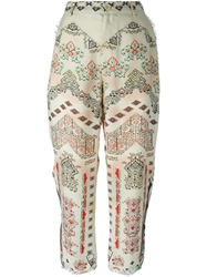 Etro Tribal Print Trousers