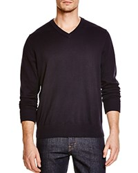 Tailorbyrd Long Sleeve V Neck Sweater Compare At 79.50 Navy