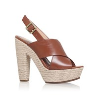 Vince Camuto Amella High Heel Sandals Brown