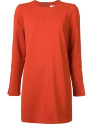 Tibi Buttons Detailing Longsleeved Blouse Yellow And Orange