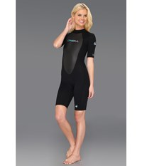 O'neill Reactor Spring Suit Black Black Black Women's Wetsuits One Piece