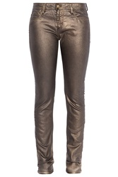 Faith Connexion Metallic Skinny Jean