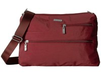 Baggallini Tablet Crossbody Scarlet Cross Body Handbags Red