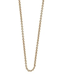Jet Set Candy Cable Chain Necklace 18 Gold