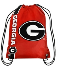 Forever Collectibles Georgia Bulldogs Big Logo Drawstring Bag Red