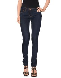 Novemb3r Denim Denim Trousers Women Blue