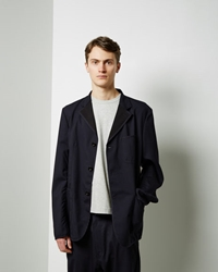 Junya Watanabe Tropical Wool Jacket Navy