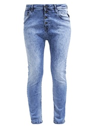 Replay Hxperplex Pilar Relaxed Fit Jeans Blue Bleached Denim