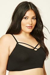 Forever 21 Plus Size Caged Cutout Bralette