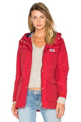 Penfield Kasson Hooded Mountain Parka Red