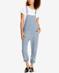 Levi's Lightweight Chambray Rain Denim Overalls
