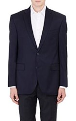 Barneys New York Twill Two Button Sportcoat Blue Size 40 Regular