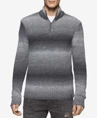 Calvin Klein Jeans Men's Spacedye Sweater Grey