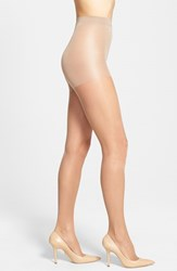 Women's Calvin Klein 'Sheer Essentials Matte Ultra Sheer' Control Top Pantyhose Tan Glow