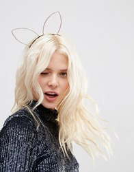 Asos Limited Edition Hen Party Bunny Headband Pink