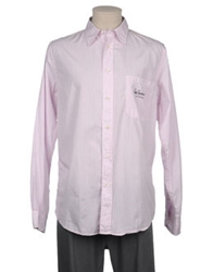 Luis Trenker Long Sleeve Shirts Pink
