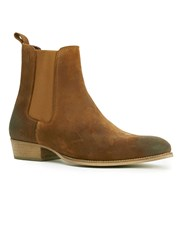 Topman House Of Hounds Tan Suede Chelsea Boots Brown
