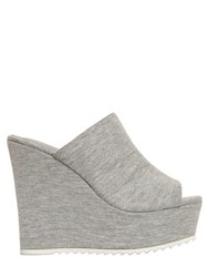 Jeffrey Campbell 130Mm Mansfield Cotton Jersey Wedges