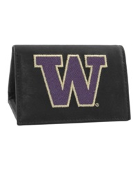 Rico Industries Washington Huskies Trifold Wallet Black